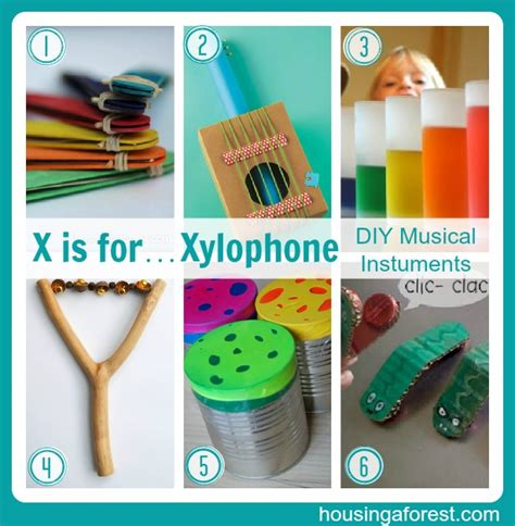 diy instruments the abc s of crafting on a budget letters u z housing