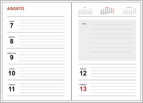 Descargar Calendario 2017 Gratis Plantilla Indesign Agenda 2017
