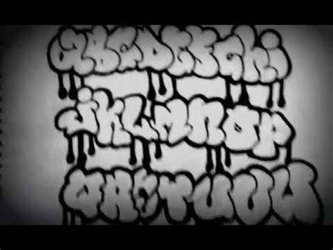 graffiti alphabet bubble  youtube