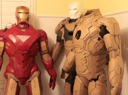 How To Make Iron Suit Out Of Paper - 17 best images about paper costumes on cool