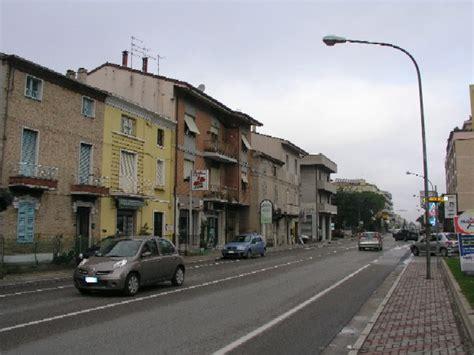 stazione porto sant elpidio veduta della trafficata via umberto i la statale adriatica