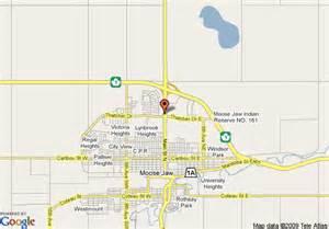 map of 8 motel moose jaw moose jaw