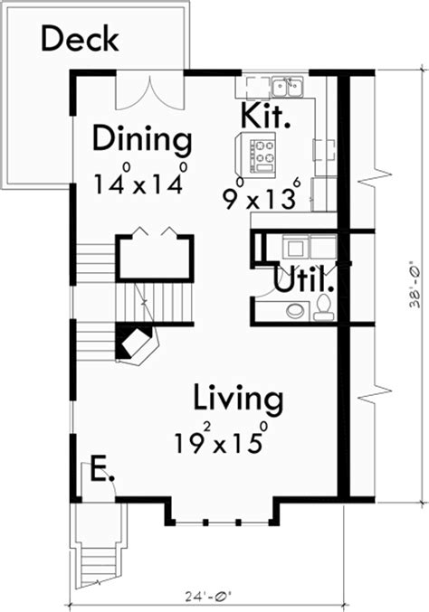 4 bedroom duplex house plans 4 bedroom duplex house floor plan
