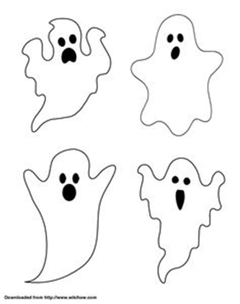 Printable Halloween Ghost Decorations | little ghost coloring pages ghost cartoon cartoon