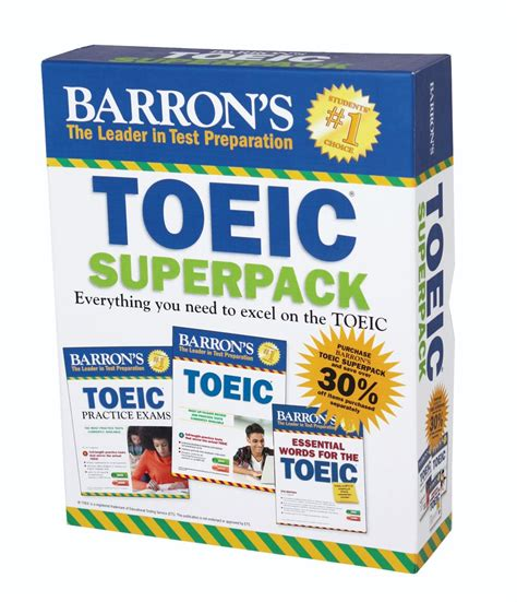 Barron S Toeic Superpack Newsouth Books
