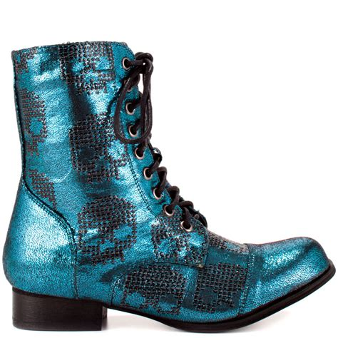 combat boot heels ruff rider combat boot turq iron 79 99 free