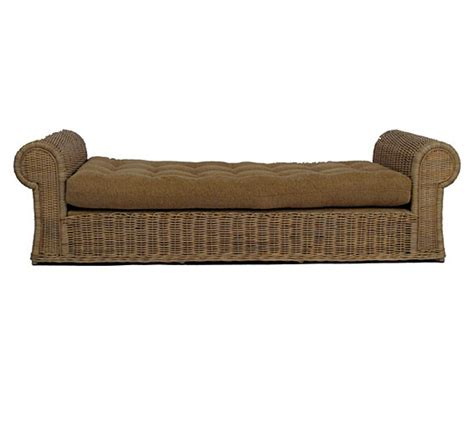 wicker day bed tonda daybed wicker material indoor furniture the wicker works