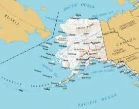 map canada alaska alaska