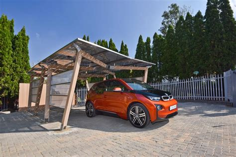 What Is A Car Port by Bmw South Africa Unveils Solar Carport For Ev Charging
