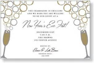 new year s invitations