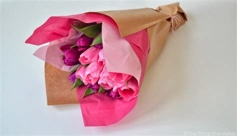 How To Make Tissue Paper Flowers Without Pipe Cleaners - digiwrap 7 tissue paper flower diys for and easter