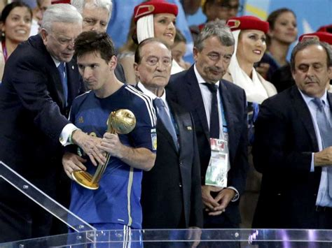 2014 world cup golden ball winner did lionel messi did lionel messi really deserve to win the golden ball award