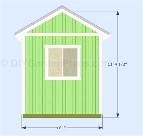 8x8 Shed Plans Free by 10 X 8 Pent Shed Plans Materials Learn How Lidya