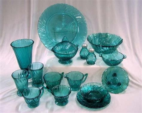 depression glass colors great color in swirl depression glass other obsessions