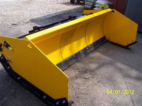 Sectional Snow Plow by Arctic Sectional Snow Plow Pusher Lawnsite