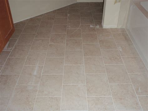 Ceramic Tile Bathroom Floor Home Design Interior