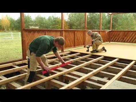 Terrasse Hoch Bauen by Dauerholz Terrassen Bauen Mit Dauerfix