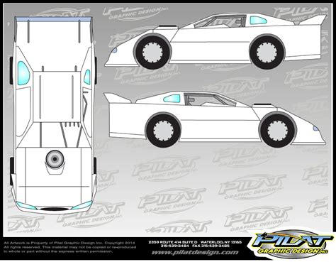 dirt late model graphics template sprint car design template www imgkid the image