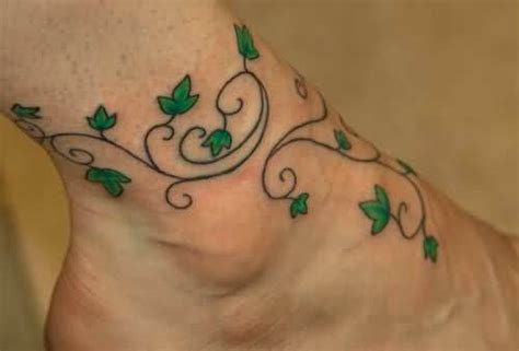 shamrock vine tattoo designs vine tattoos page 2