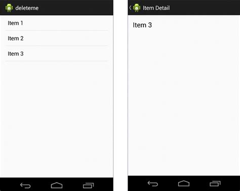 flow layout in android exle an android master detail flow tutorial techotopia