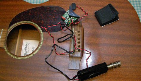 acoustic electric guitar wiring free wiring