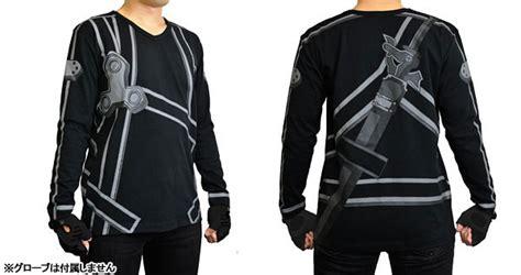 Jaket Anime Sword crunchyroll quot sword quot kirito shirt