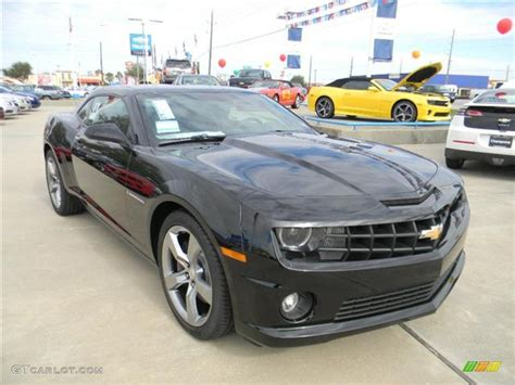 2012 rs camaro black 2012 chevrolet camaro ss rs coupe exterior photo