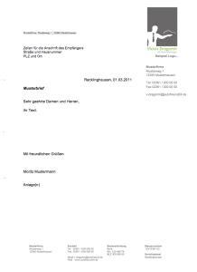 Geschäftsbrief Angebot Muster Kostenlos Vorlage Convictorius Part 19