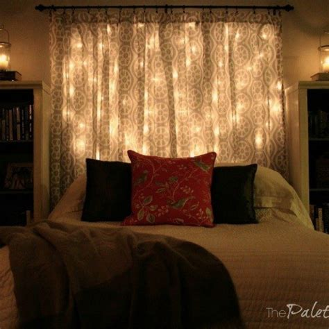 bedroom lights string 14 string light ideas that are cozier than your bed hometalk