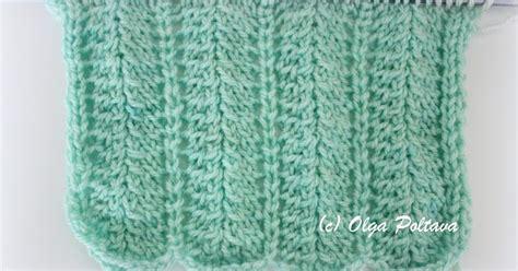 Sb 630 Knit bluebell crafts my knitting attempt simple knitting stitch pattern
