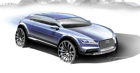 future audi audi q1 coupe concept sketches preview future suv