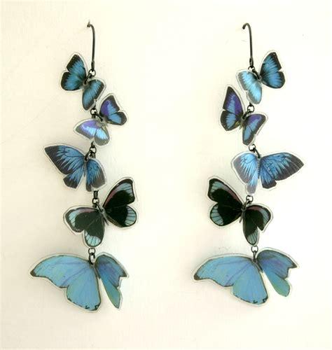 Butterfly Earring multi butterfly earrings contemporary earrings by