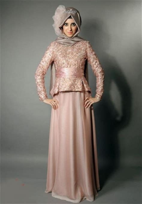 Baju Muslim Brokat Simple model kebaya modern simple sederhana muslim brokat terbaru