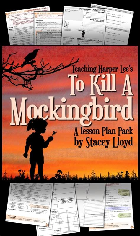 to kill a mockingbird by a teaching unit pack