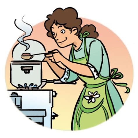 what to cook dinner cooking dinner clipart