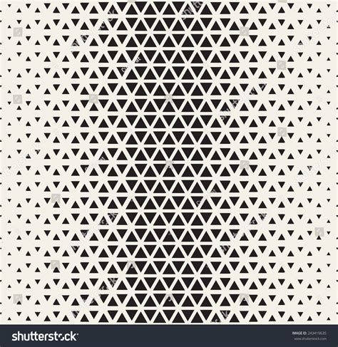 triangle pattern bumps vector seamless pattern modern stylish texture stock