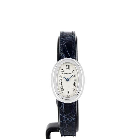 Baignoire Mini by Montre Cartier Baignoire Mini En Or Gris W1518956 D Occasion
