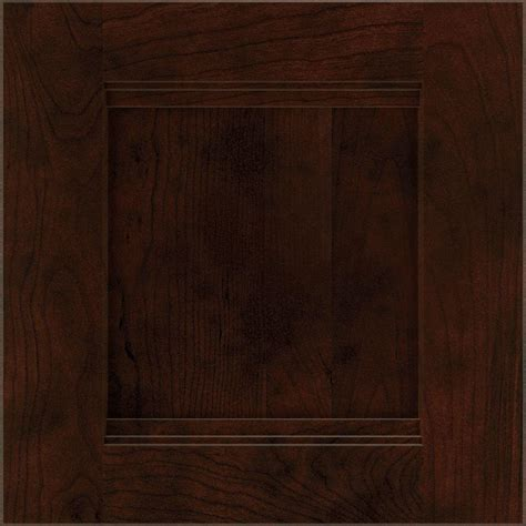 Thomasville Cabinet Doors Thomasville 14 5x14 5 In Draker Cabinet Door Sle In Chocolate 772515399275 The Home Depot