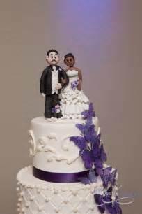 biracial wedding cake toppers wedding cake topper