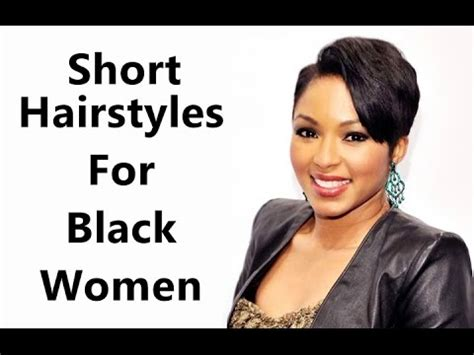 easy to maintain short hairstyles for black hair easy to maintain short hairstyles for black women short