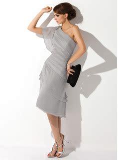 Sandal Wedges Wanita Silver Js 335 a line princess one shoulder knee length chiffon of
