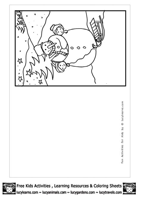 printable coloring pages christmas cards high quality