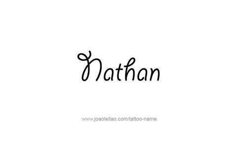nathan tattoo designs nathan prophet name designs page 2 of 5 tattoos