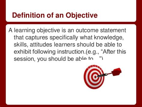 related keywords suggestions for objective definition