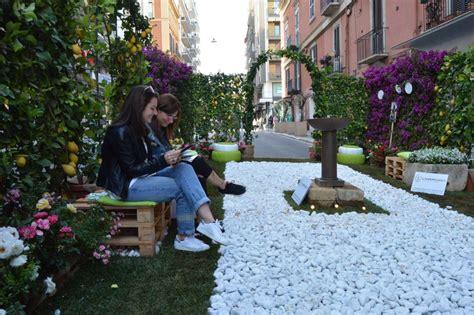 come creare un giardino fiorito bari un giardino fiorito nelle vie dello shopping 1 di