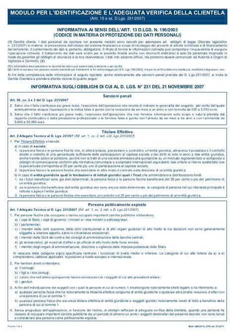dichiarazione antiriciclaggio moduli antiriciclaggio antiriciclaggio controllo