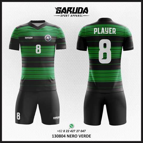 desain baju futsal warna hijau tosca penyedia jasa desain kaos futsal hitam hijau garuda
