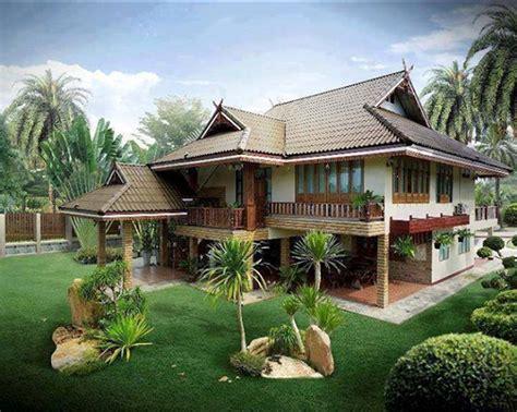 moden homes design rumah kung moden village house pinterest