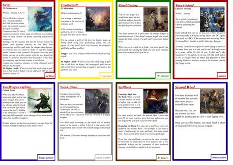 D D 5e Mse Card Template by Homebrew Cards For D D Using Magic Set Editor Mse