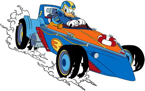 Donald Duck Racer mickey and the roadster racers clip disney clip